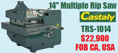 TRS 1014 Multiple Rip Saw
