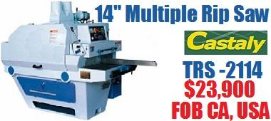TRS 2114 Multiple Rip Saw
