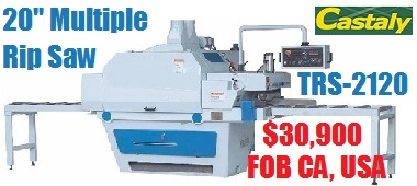 TRS 2120 Multiple Rip Saw