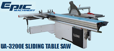 UA3200E Sliding Table Saw