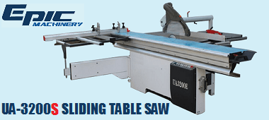 UA3200S Sliding Table Saw
