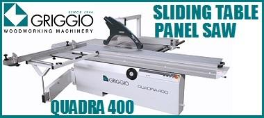 QUADRA400 Sliding Table Panel Saw 380x170